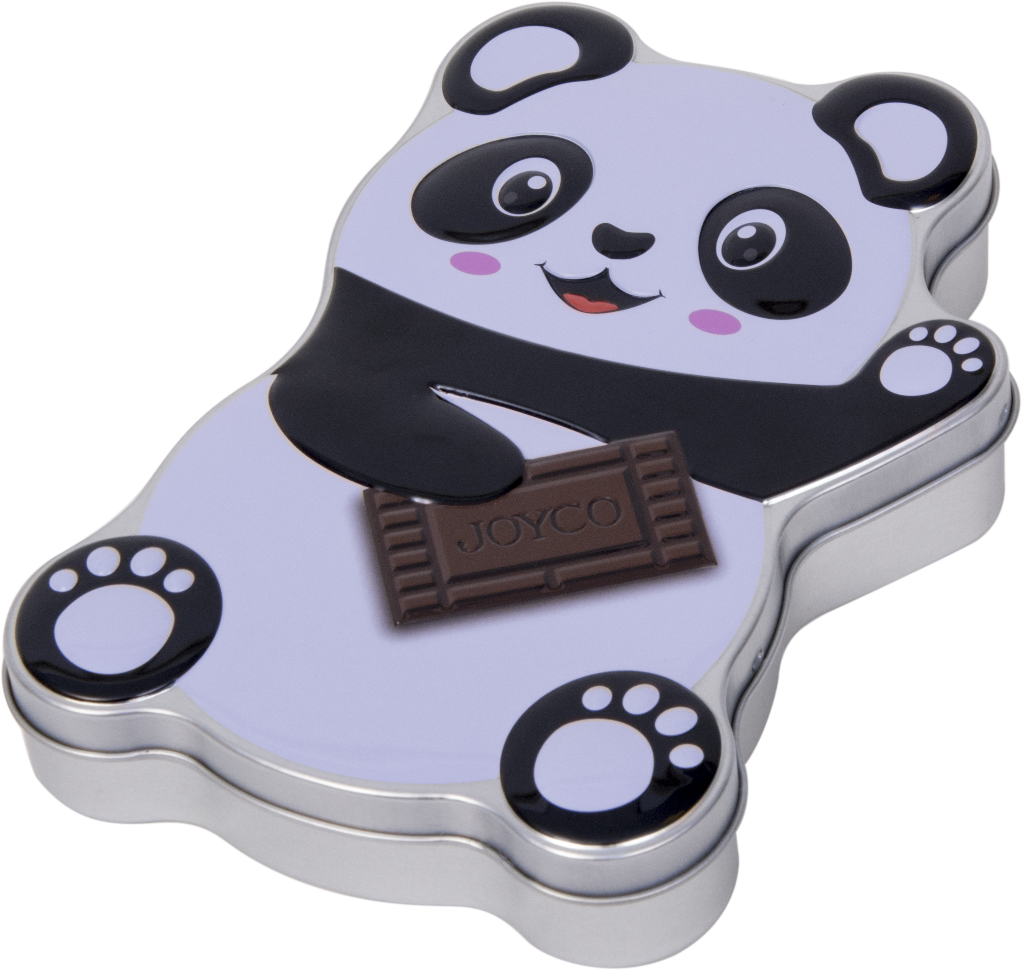 Werbe-Blechdosen: Panda Chocolate